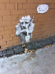 yonge st alley mural