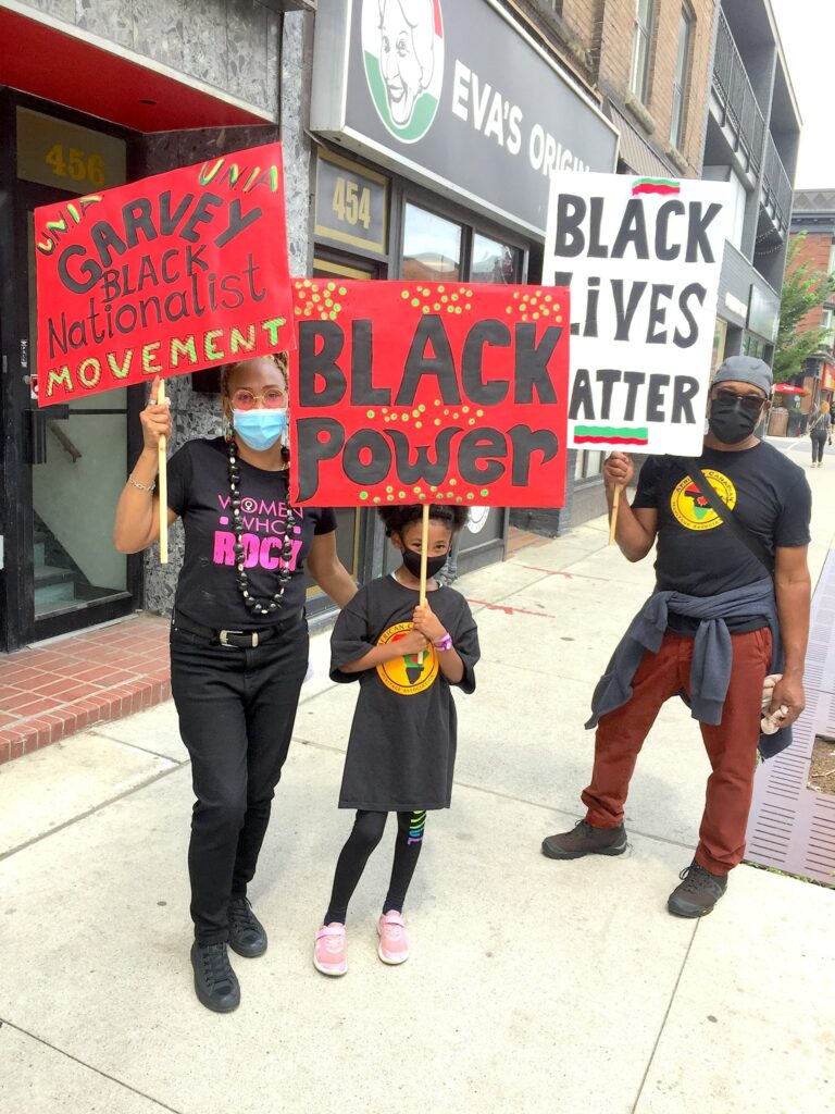 Emancipation Day event on Bloor St August 1, 2021